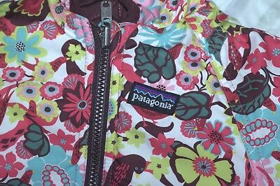 PATAGONIA Quilted multicolor/brown   Bunting Reversible Baby no tag size
