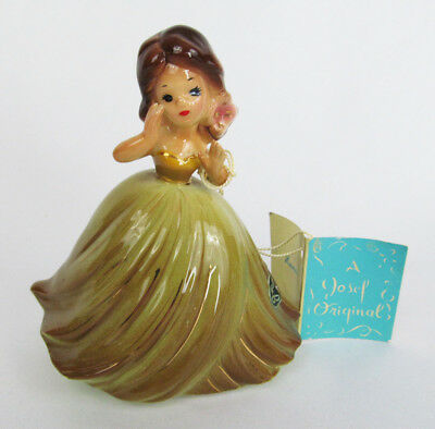 Vintage Josef Originals Hawaii International Series Girl wtih Booklet Figurine