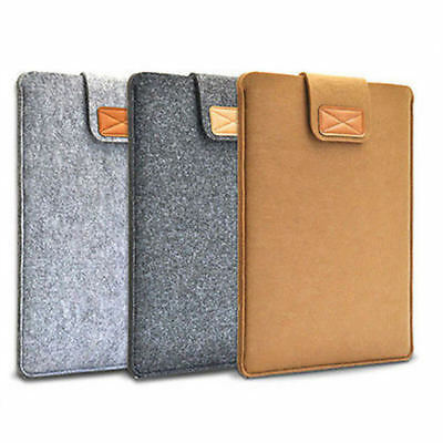 "Slim Wool Felt Laptop Bag Sleeve Case For 11"" 13"" 15"" Macbook Air/Pro/Retina"