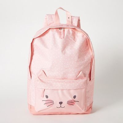 NEW Cat Pocket Backpack Kids