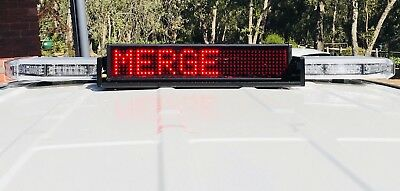 NEW! MADE IN USA Code3 D&R Road Alert RA-R-20U LED Messade Display Board