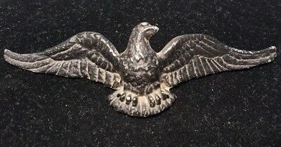 Vintage Wilton Brass Co. Drawer Pulls American Eagle Aluminum Medal