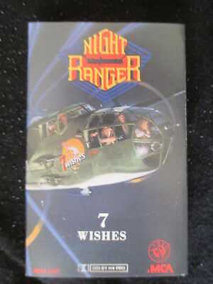 "Night Ranger - ""seven Wishes""  Music-Cassette 1985  - Retro - Tape"