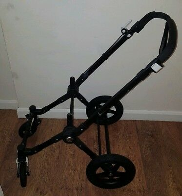 *PROJECT * Bugaboo Cameleon 3 Black Chassis / Frame - 2014 - Needs Repair