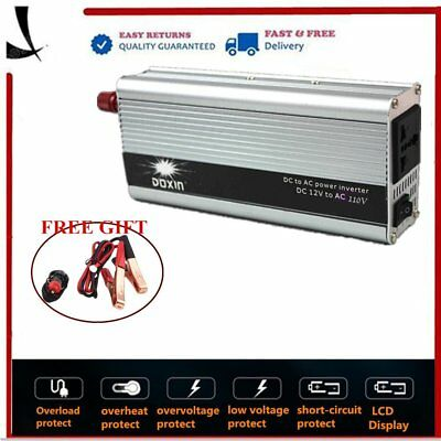 650W DC 12V - AC 220V Modified sine wave Car Power Inverter for Electronic CP