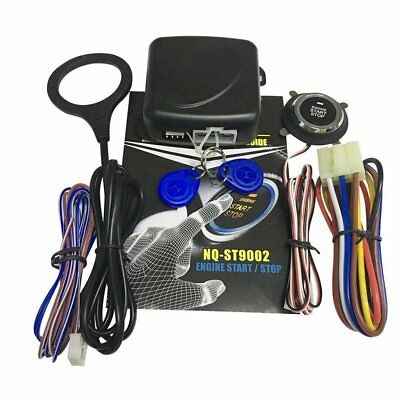 12V Push Button Car Engine Start Stop System Kit For Auto Keyless Entry Alarm CP