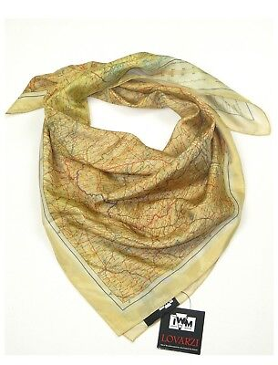 Silk map scarf set of 2 scarves escape maps for sale world war 2 silk escape map scarf official iwm wwii air force cloth maps for sale gumiabroncs Images