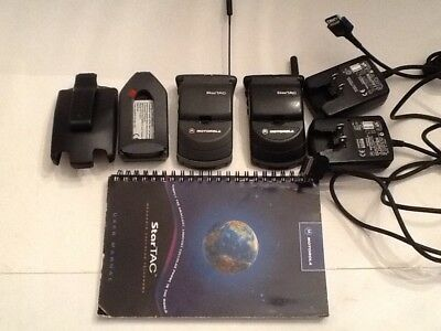Startac phones one analog/one digital - chargers and manual