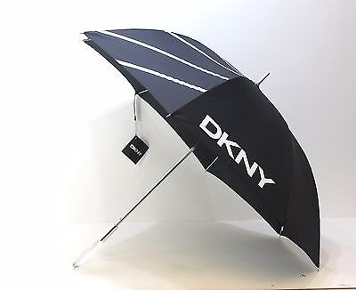 Dkny Donna Karan Black Umbrella
