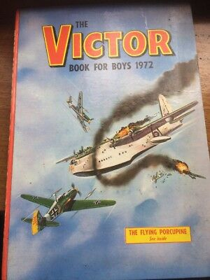Annual Book:VICTOR 1972:'THE'Book Boy For Boys !