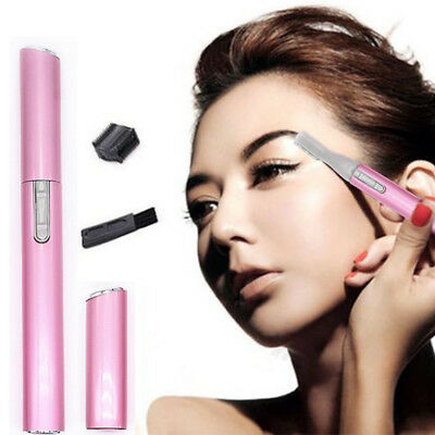 Lady Women Electric Shaver Legs Eyebrow Trimmer Shaper Hair Remover Tool Kit Set