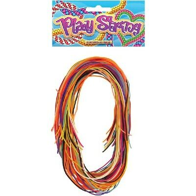 80 Coloured Play Strings Scoubidou Scubidu Scooby do Scoobies Various Colours