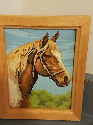 Vintage Paint by Number Horse
