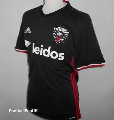 DC UNITED Adidas Official Home Shirt 2016-2017 NEW Soccer Jersey D.C.