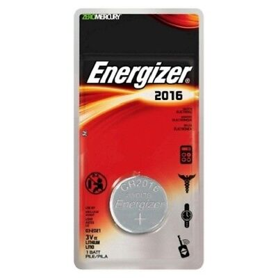 Energizer 2016 Batteries Lithium Battery 3V Button/Coin Cell CR2016,DL2016 3v