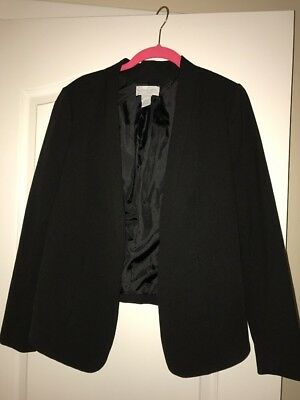 Jessica Simpson Maternity Blazer-  Black- Medium