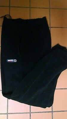 Vintage 90s Nautica Competition Black Fleece Sweat Pants Men's  L 🙋READ1