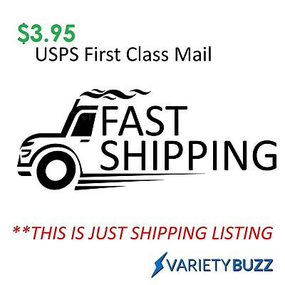 $2.99 USPS First Class Mail - Shipping Service For Re-Shipping - Please Contact