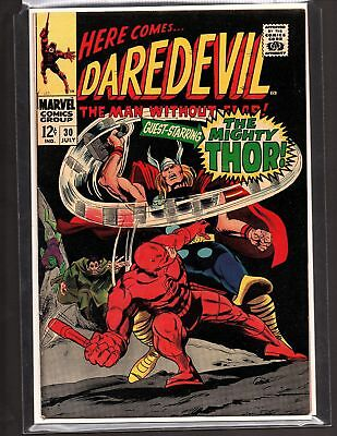 Daredevil #30 ..If There Should Be A Thunder God! 1967 Thor Crossover