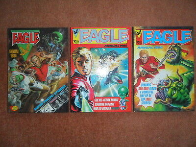 Eagle Annuals 1984 1985 1986 Collectable Books