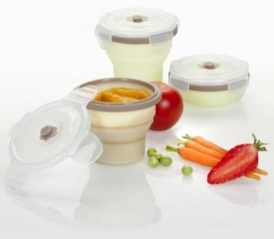 Silicone containers (3 x 240ml)