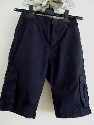 Great Boys Black Cargo Shorts Size 11/12 Adjustable Waist