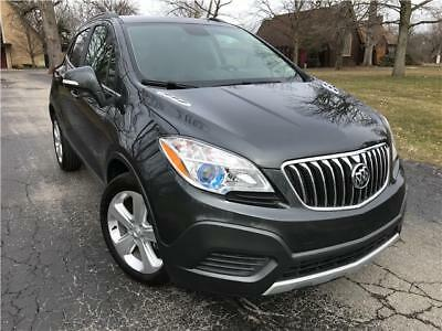 Encore Leather 2016 Buick Encore Leather Edition 7-Day Auction NO RESERVE PRICE Clean Rebuilt