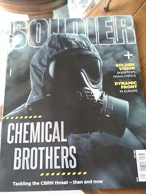 Soldier Magazine April 2018 Read Once on the Train ( The CBRN Threat)