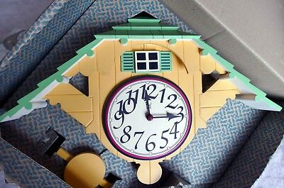 Robert Venturi Cuckoo Clock Kuckucksuhr Alessi Limited Edition 1998 no corkscrew