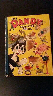 Rare and Fantastic condition The dandy monster comic no 1 annual 1939