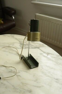 HARVEY GUZZINI lamp - vintage mid century table lamp antique