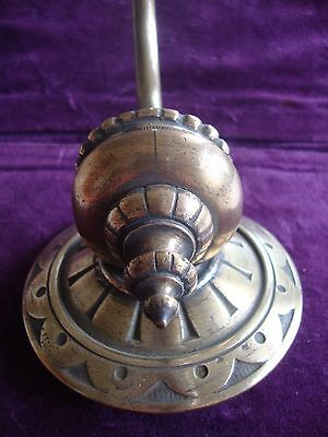 Fine quality solid brass electric wall lamp