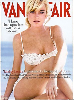 Vanity Fair  February 2006 Lindsay Lohan Cover Us Edition