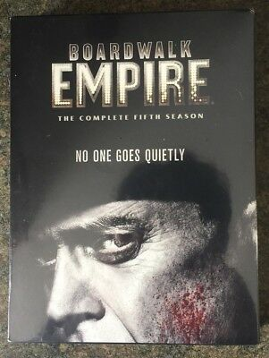 ** Boardwalk Empire: The Complete Fifth Season, DVD, brand new, factory sealed!