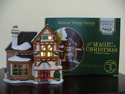 DEPT 56 DICKENS' Village THE MAGIC OF CHRISTMAS A Holiday Tradition