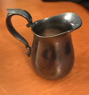 Reed & Barton Signed Silverplate Individual Size Creamer or Pitcher Pattern 964
