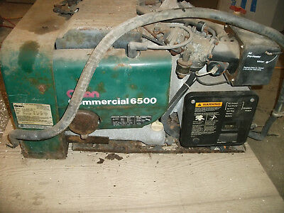 Onan Commercial 6500 gasoline generator  10 hours use