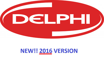 DELPHI 2015 R1 and 2014 R3 Diagnostic Software and Activation Multilingual