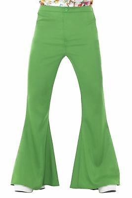60s 70s Retro Bell Bottoms Disco Flared Trousers