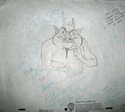 Original production drawing - The Looney, Looney Bugs Bunny Movie