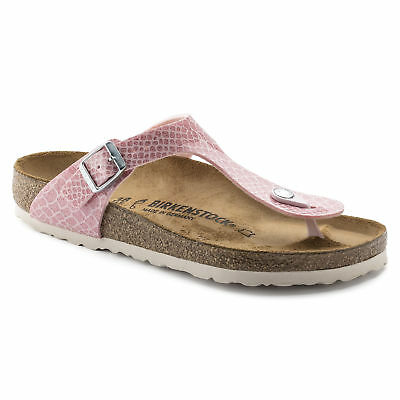CLEARANCE Birkenstock Birko Flor GIZEH Magic Snake Rose BNIB 1009121