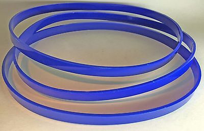 """SET of 3 TIRES ULTRA Thick 1/8"""" for SEELEY & CRAFTSMAN 103.24300 Band Saw USA"""