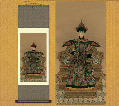"""Chinese Silk painting Decorative painting Scroll painting Figure painting""""皇后"""""""