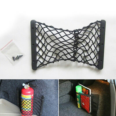 Universal Car Fire Extinguisher Bags Storage Net Luggage Network Pocket