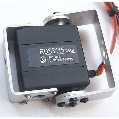 DS RDS3115 15KG Large Torque 180 Degree Biaxial Digital Servo for RC Robot