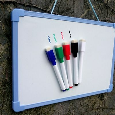 Magnetic Magnet Dry Wipe Built In Eraser White Board Markers Pens Markers