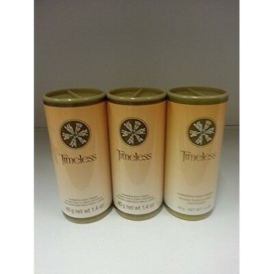 Avon Timeless Shimmering Body Powder Talc Lot of 3 Pcs.