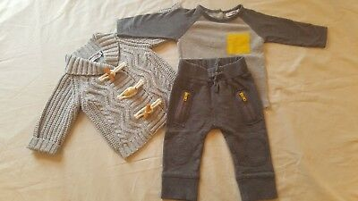 David Jones Baby Boy Clothes Size 0 / 6-12 Months