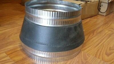 "10""-8""(250mm - 200mm) METAL DUCT REDUCER/HVAC DUCT REDUCER/REDUCER FITTING"