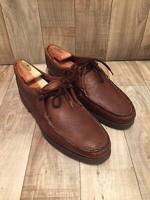 Vintage Nomads Wright Boat Shoes Deck Loafers Brown Size 10 1/2 S